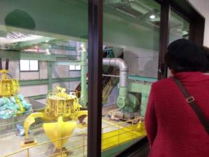 リサイクルプラスティックの処理工場